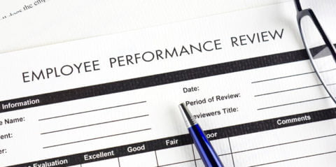 How frequently should I evaluate employee performance?