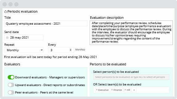 Automate your performance appraisal process with AssessTEAM