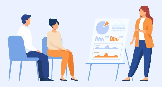 Assessing a team member using a employee performance reviews software - AssessTEAM
