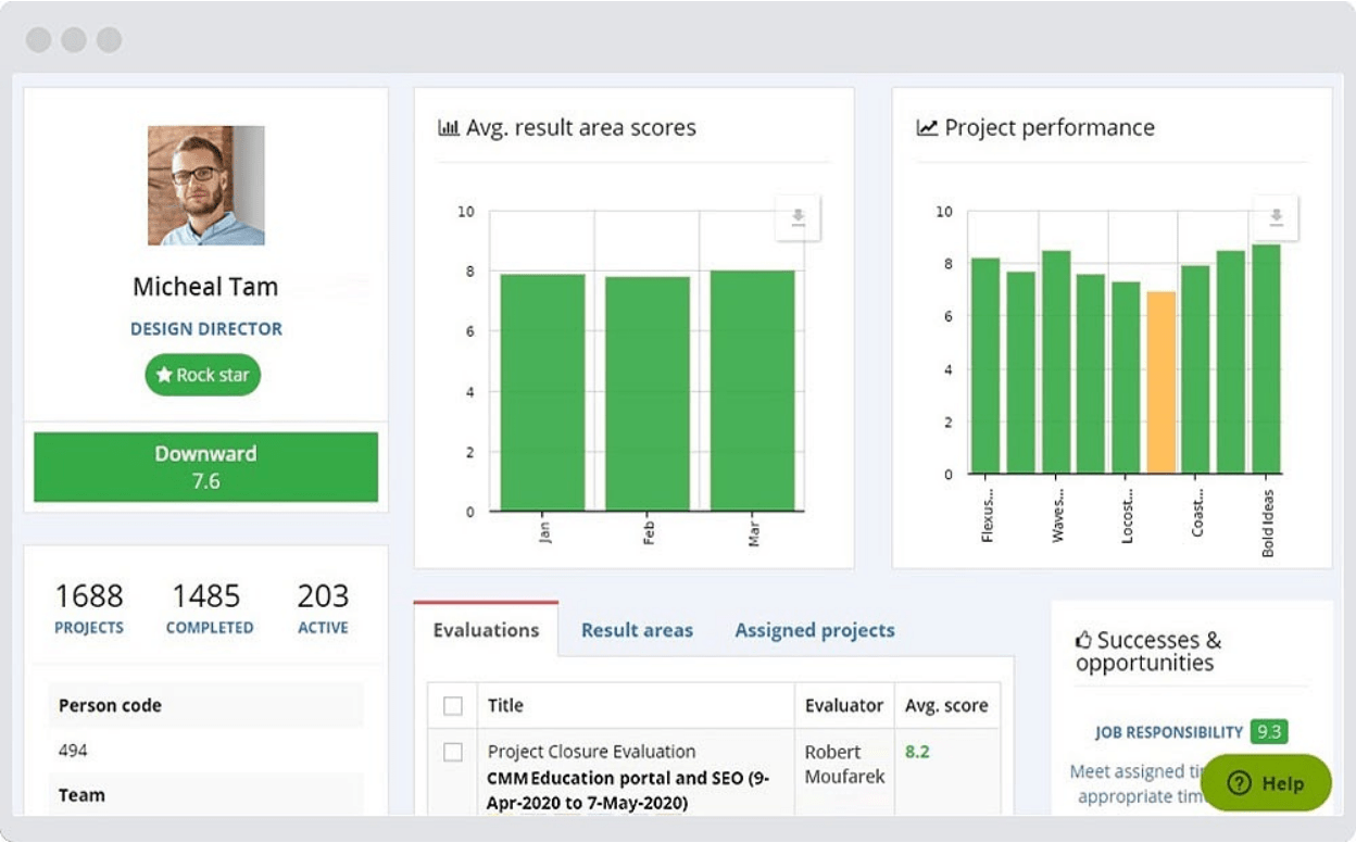 Employee performance review software for small companies - AssessTEAM