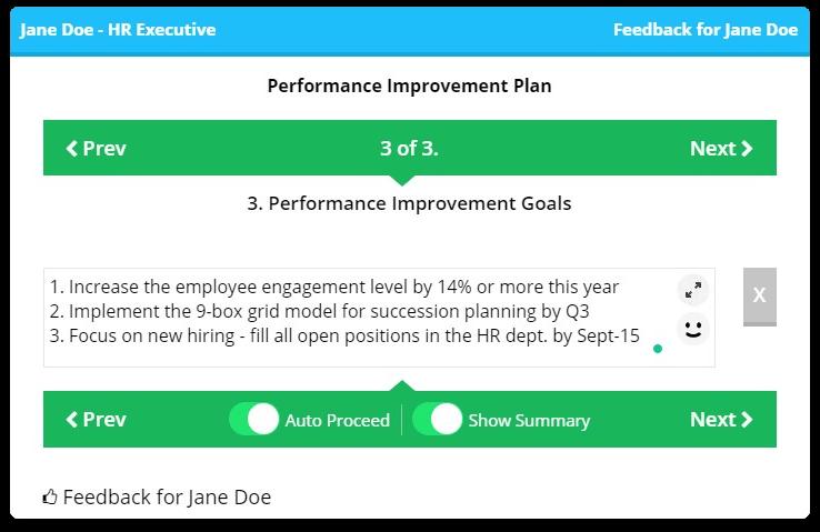 Employee appraisal system - AssessTEAM