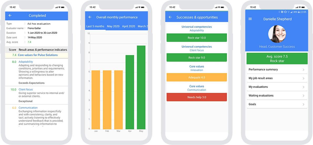 AssessTEAM's mobile platform-enabled employee evaluation software