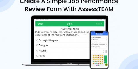 Create A Simple Job Performance Review Form with AssessTEAM