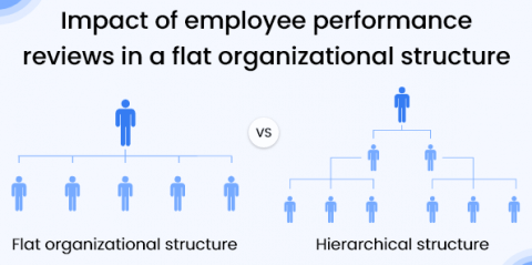 Impact of Employee Performance Reviews in a Flat Organizational Structure
